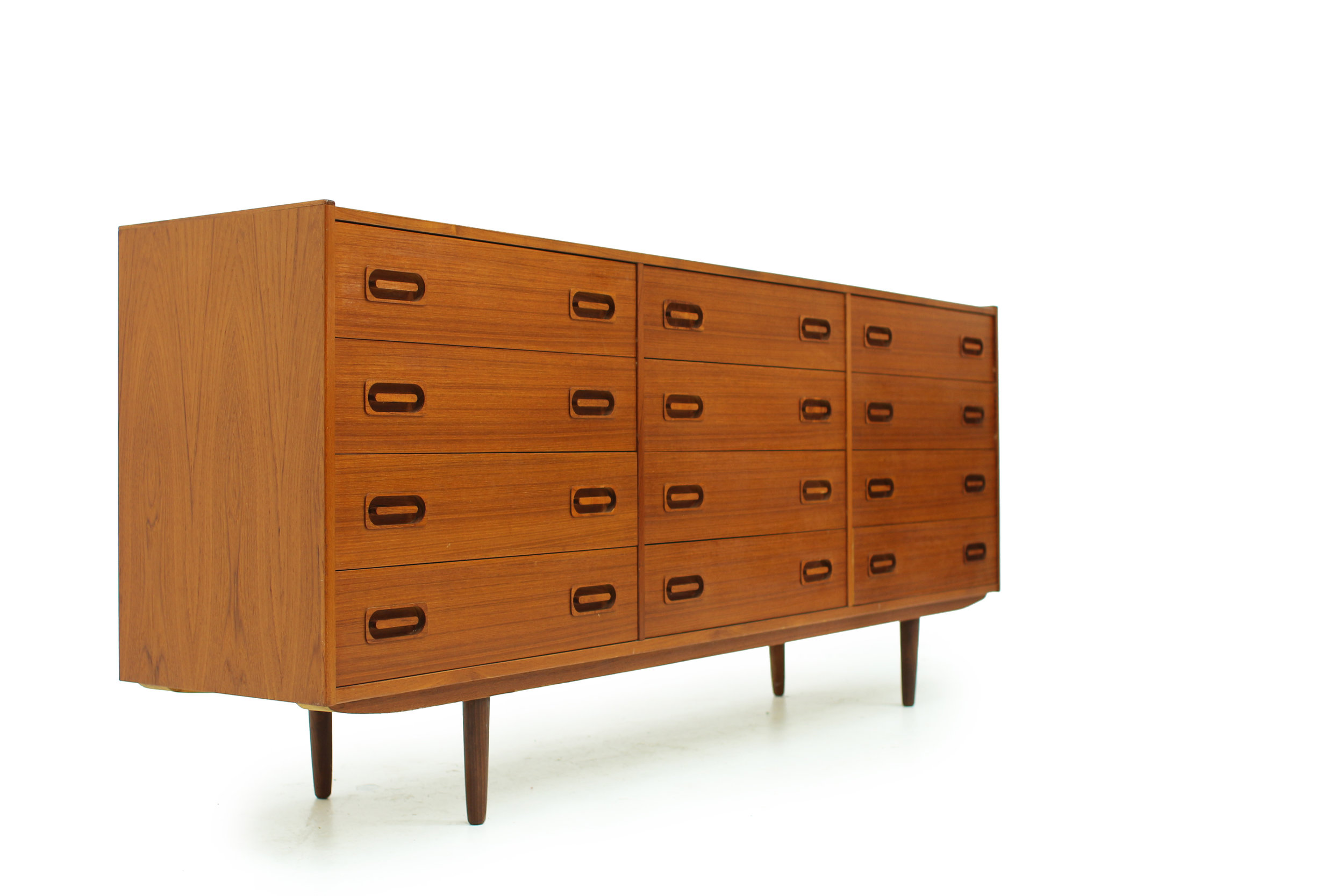 Danish Teak 12 Drawer Dresser by Dyrlund (5).jpg
