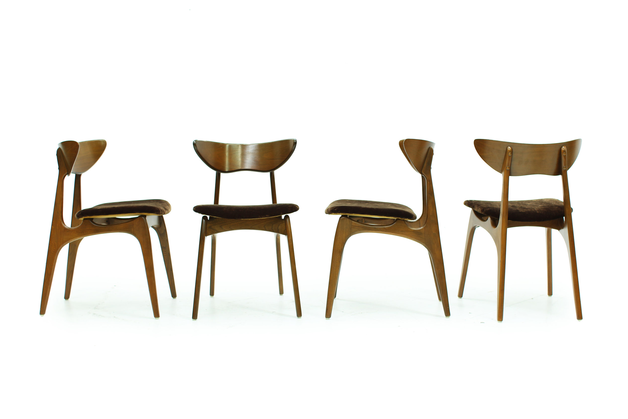 Mid Century Deilcraft Dining Chairs - Set of Four (2).jpg