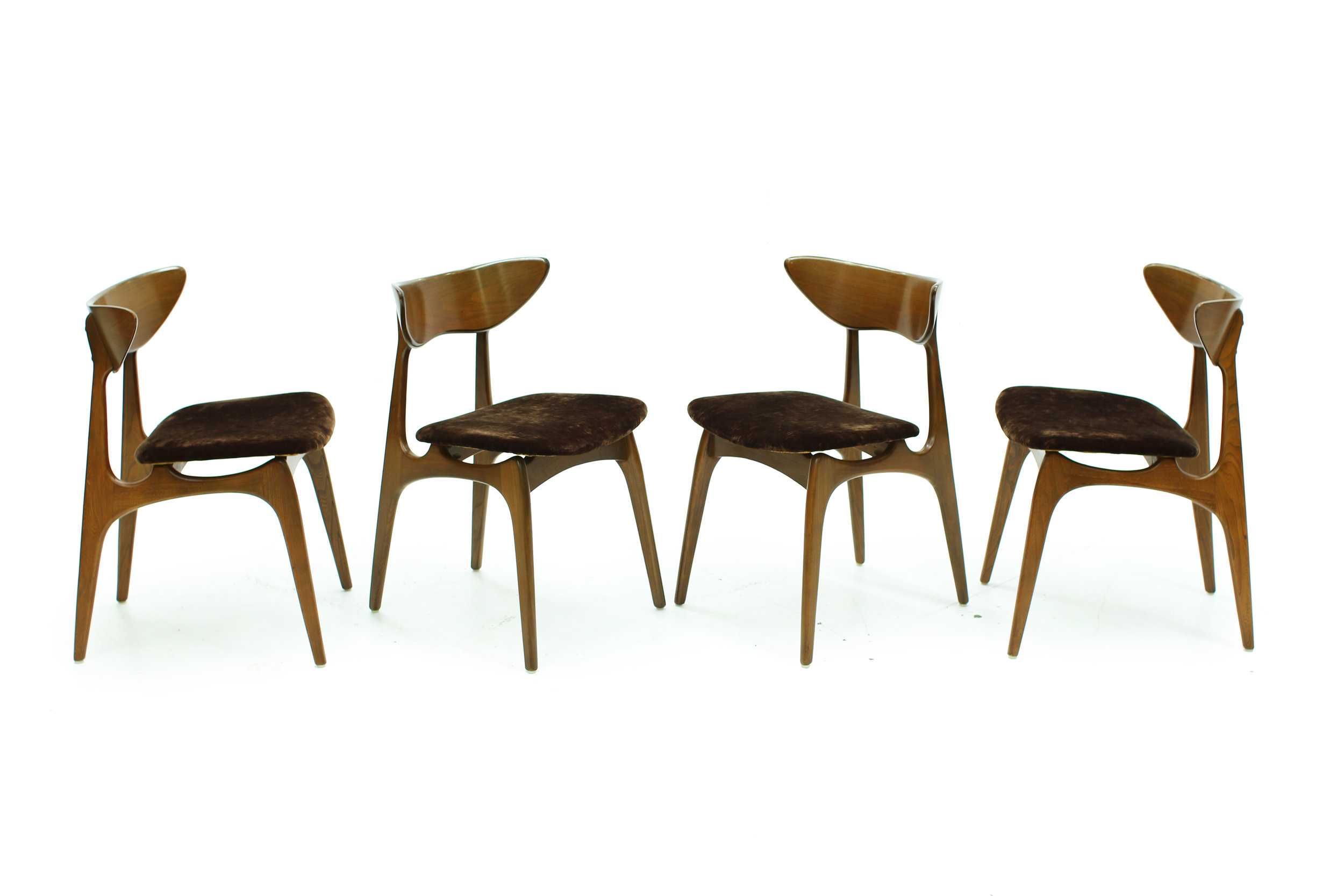 Mid Century Deilcraft Dining Chairs - Set of Four (4).jpg