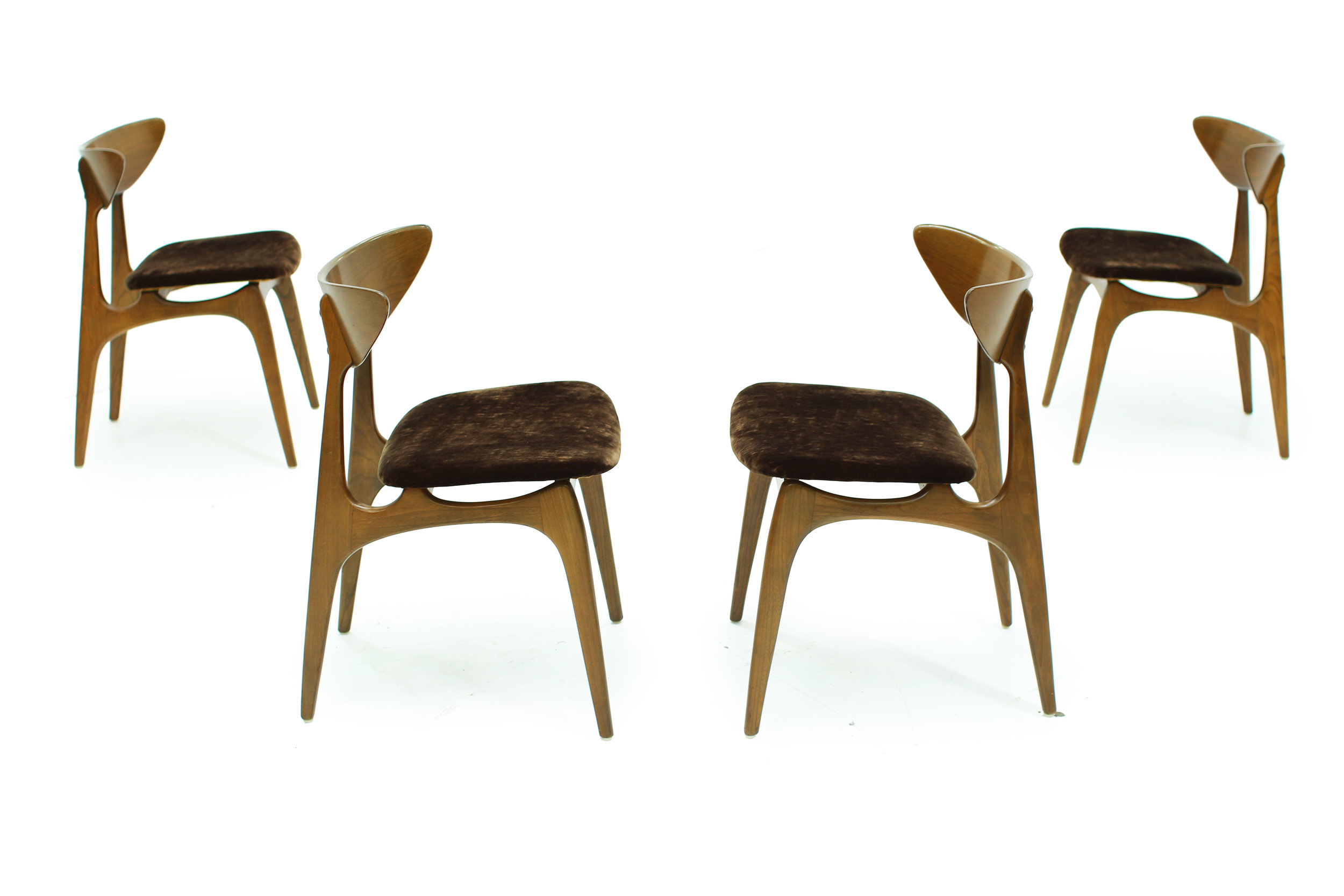 Mid Century Deilcraft Dining Chairs - Set of Four (5).jpg