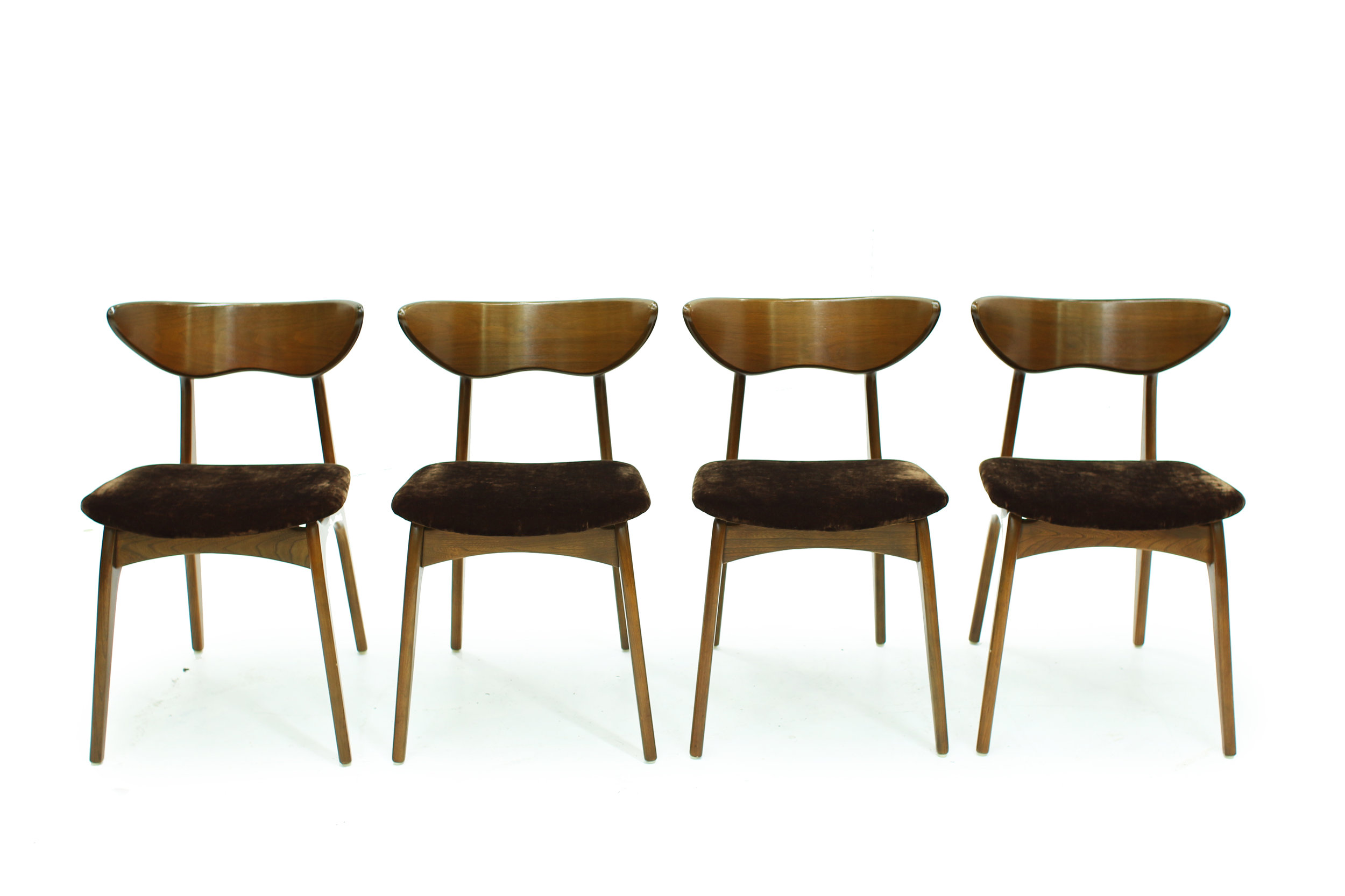 Mid Century Deilcraft Dining Chairs - Set of Four (1).jpg