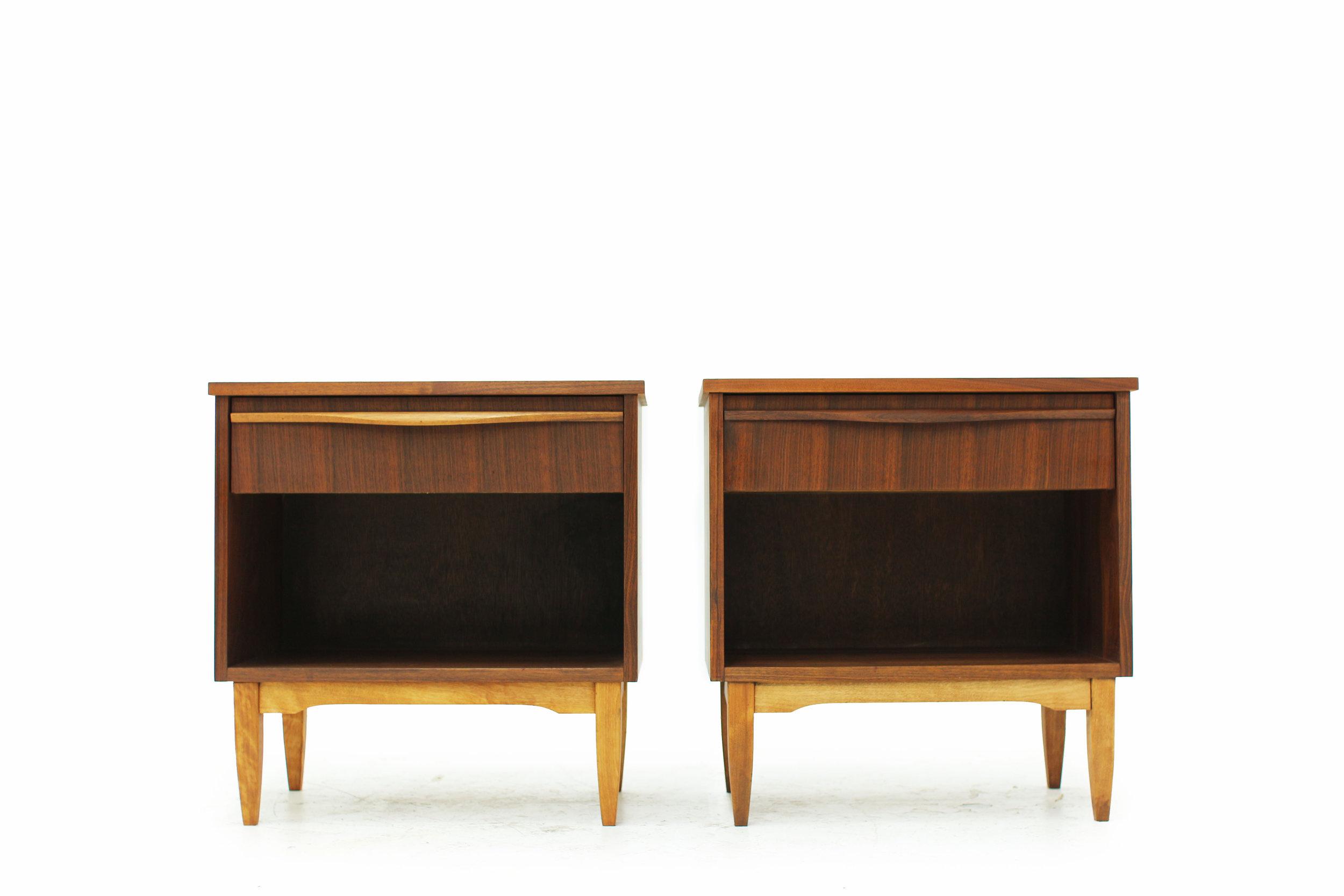 Pair of Mid Century Kaufman Nightstands in Walnut (2).jpg