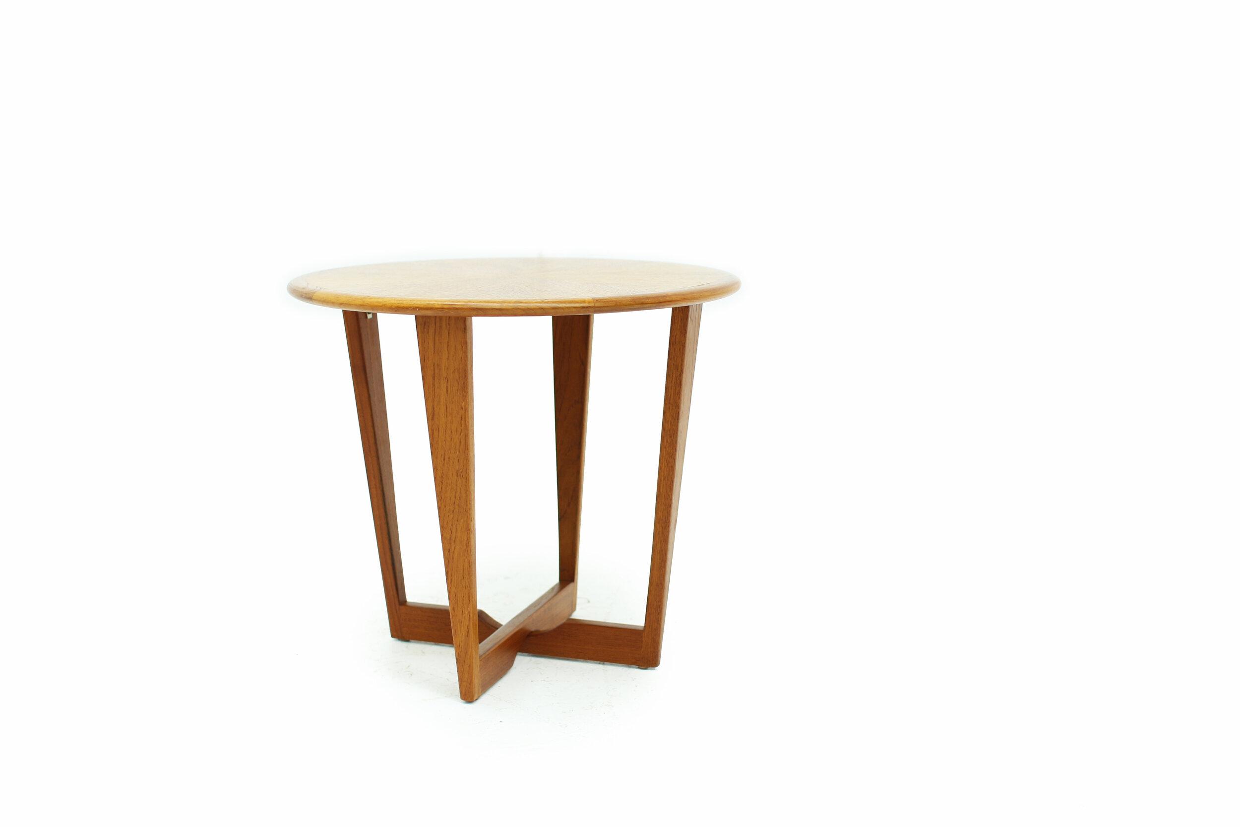 Beautiful Teak Starburst Side Table  (1).jpg