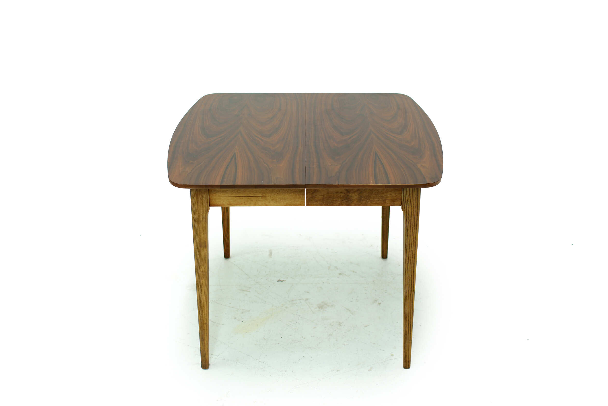 Mid Century Walnut Dining Table - with 3 Leaves (3).jpg