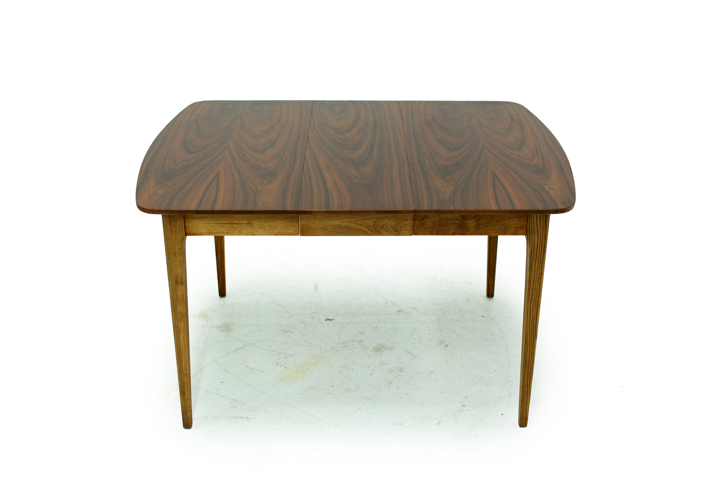 Mid Century Walnut Dining Table - with 3 Leaves (2).jpg
