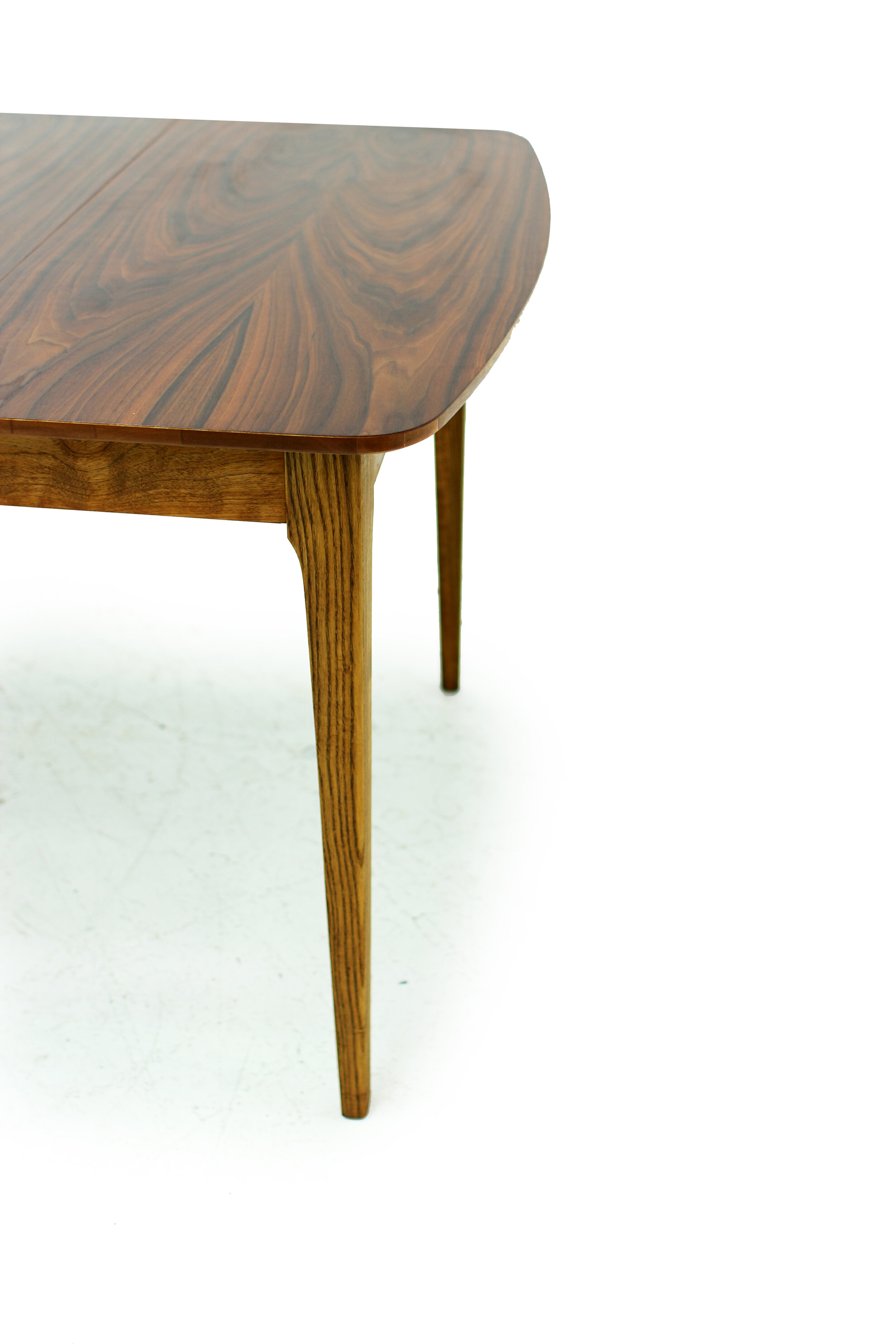 Mid Century Walnut Dining Table - with 3 Leaves (5).jpg
