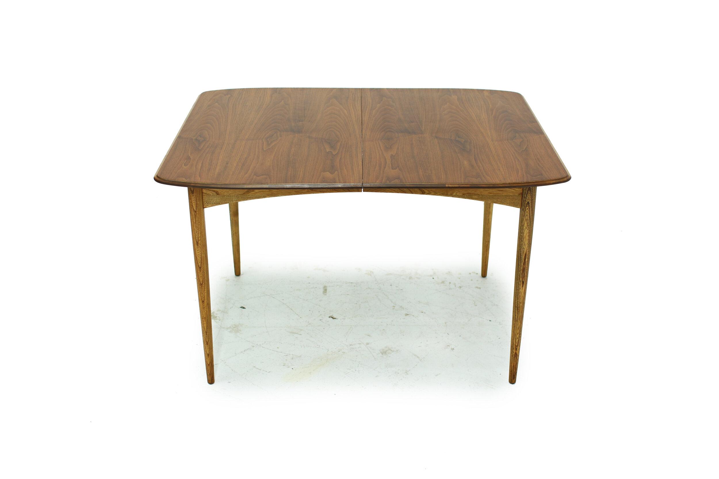 Mid Century Walnut and Ash Dining Table (5).jpg