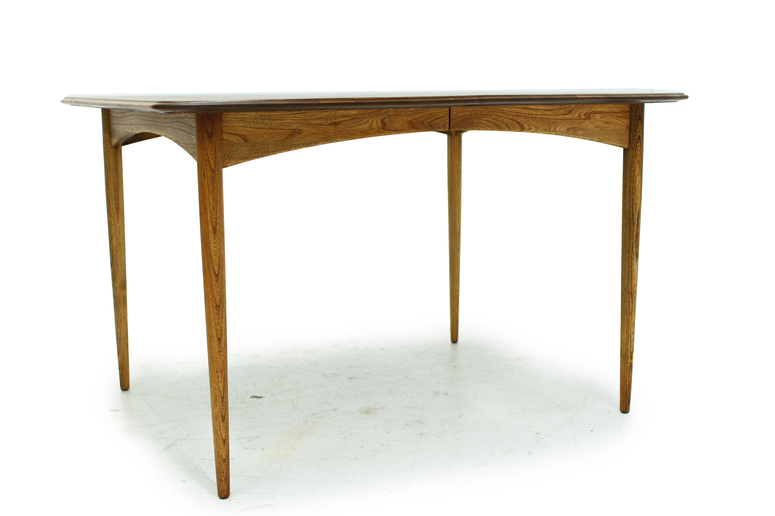Mid Century Walnut and Ash Dining Table (2).jpg
