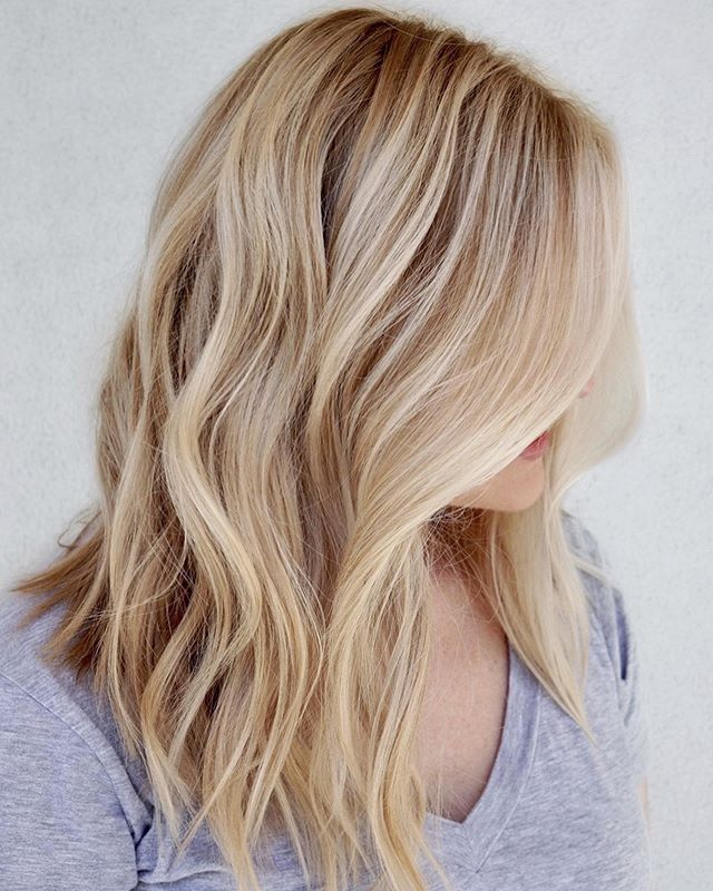 Summer creamy.... blonde 🍦🍦🍦🍦 #balayageartist @kimjettehair . . . Natural hair color levels allow you to estimate things such as how much you can lighten it safely in one seating, or whether a hair dye is suitable for your hair or will it even show up on your hair. As a golden rule, balayage/hairpainting won't lift more than 2 -3 levels on natural hair, and less than half a level on hair that has already been dyed.  Swipe ➡️➡️ to see natural level finder and know your undertone 😉 . . She is a natural level 8 and we got to a light creamy blonde in one session with #balayage 😉✨✨ . . . Paint @joico #freeplay gloss #shadeeq clear/09v . . . #bestbalayageorlando #kimjettehair #orlandoblondes #bestsalonorlando #orlandohairstylist #balayageorlando #winterparkstylist #besthairorlando #orlandohair #blondeorlando  #hairgoals #hairinsta #orlando #blonde #behindthechair #stellalucacolor #modernsalon #beautifulhair #healthyhair #hairlove #hairoftheday #bestbalayageorlando #bestsalonorlando #balayageorlando #besthairorlando