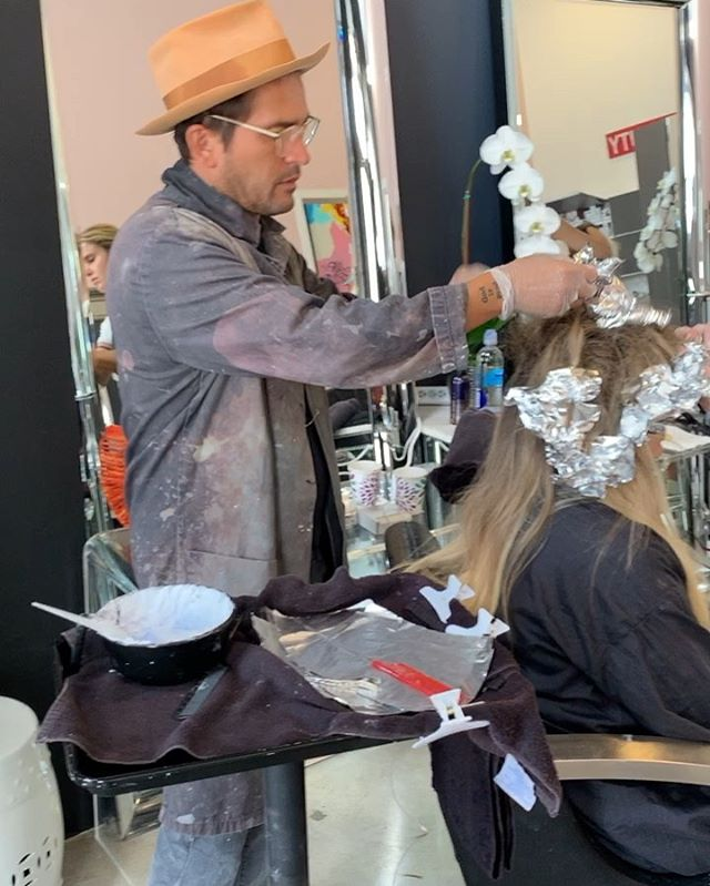 What a wonderful weekend in Miami finally getting my hair done by @johnnyramirez He is the creator of LIVED IN COLOR and A person with a beautiful heart♥️ It was an awesome experience watching him work through the whole process! He's so talented, has such an attention to detail, and has such a wonderful support team to help him create such individual beauty among all his clients at the salon! I'm so thankful and of course Love my beautiful blonde hair💖✨ #livedincolor #livedinblonde . . . . . #hairinspiration #orlando #winterpark #hairlove #lovewhatido #detaile #blessed #rise #btc #behindthechair #americansalon #modernsalon #livedincolororlando