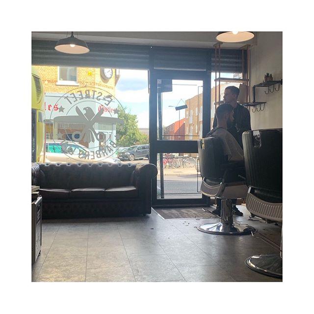 E-Street Barbers LDN . . .  Cut and wash: £22.50  Clippers only: £15 Student : £18.50 U18: £15  Native product : £12.50 *early bird special before 12 on weekdays: £18 . .  Open: Mon,Tue,Wed, Fri : 10-7 Thur : 10-8 Sat: 9-4  Sun: closed  Tel: 020 7997 0082  #barber #barberlife #barbershop #barbershopconnect #britishmaasterbarbers #barbergang #barberhub #barbernation #beard #baw #beardgang #beardlife #menshaaair #a #mattclay  #menshealth #iamnative #nativehairproducts #mensstylea #skinfade #hairwax #mensfashion #pompadour #menshairproducts #tattooed #instadaily #clapton #hackneybarbers #Estreetbarbersldn