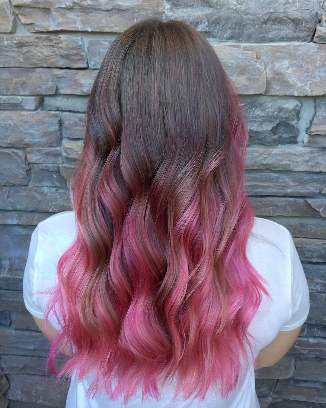 Pink hair Roseville