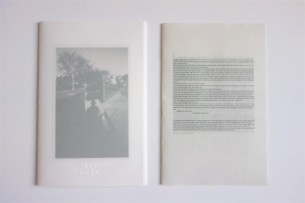 1000 Miles (Dual Folio)