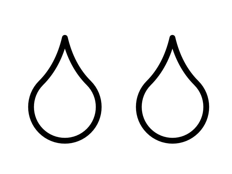2 drops of facial cream