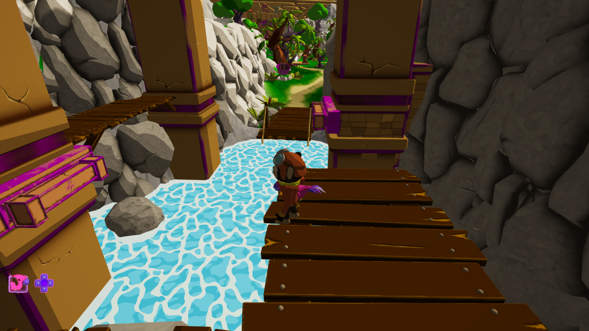 Figure 5: A slightly more intricate platforming section
