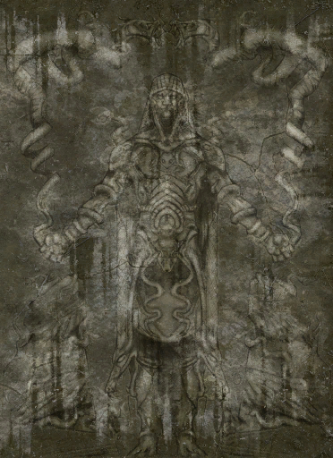 Mural of the God of Mortality: Orkey