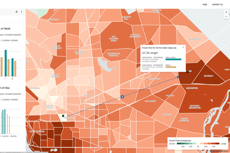 Uber's new tool, Movement, gives cities a mind-bogglingly detailed view of traffic patterns
