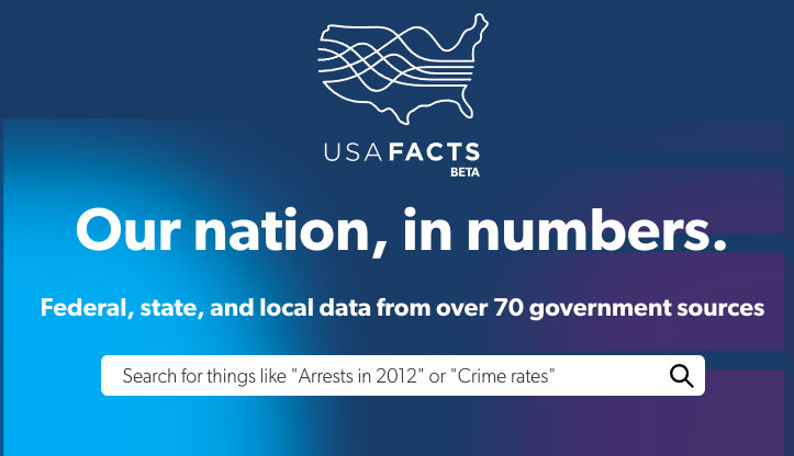 Steve Ballmers's (former Microsoft exec) long awaited portal to local, state, and federal data - all in one place - amazing data resource.
