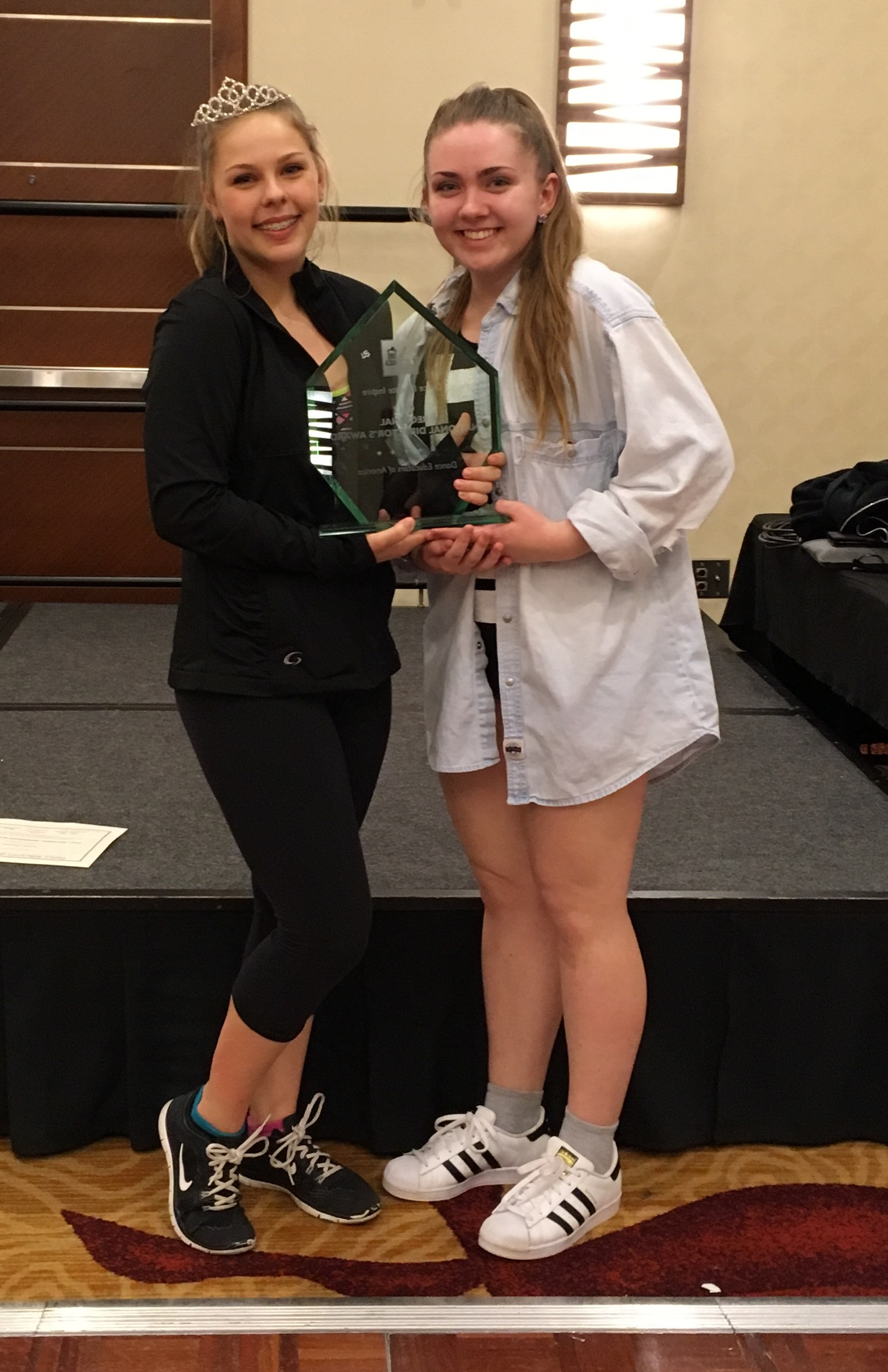 """""""Say Something"""" choreographed by Kasey Thomas, received the DEA National Director's Award for the overall highest score in all combined solos, duos & trios at the Seattle Convention!"""
