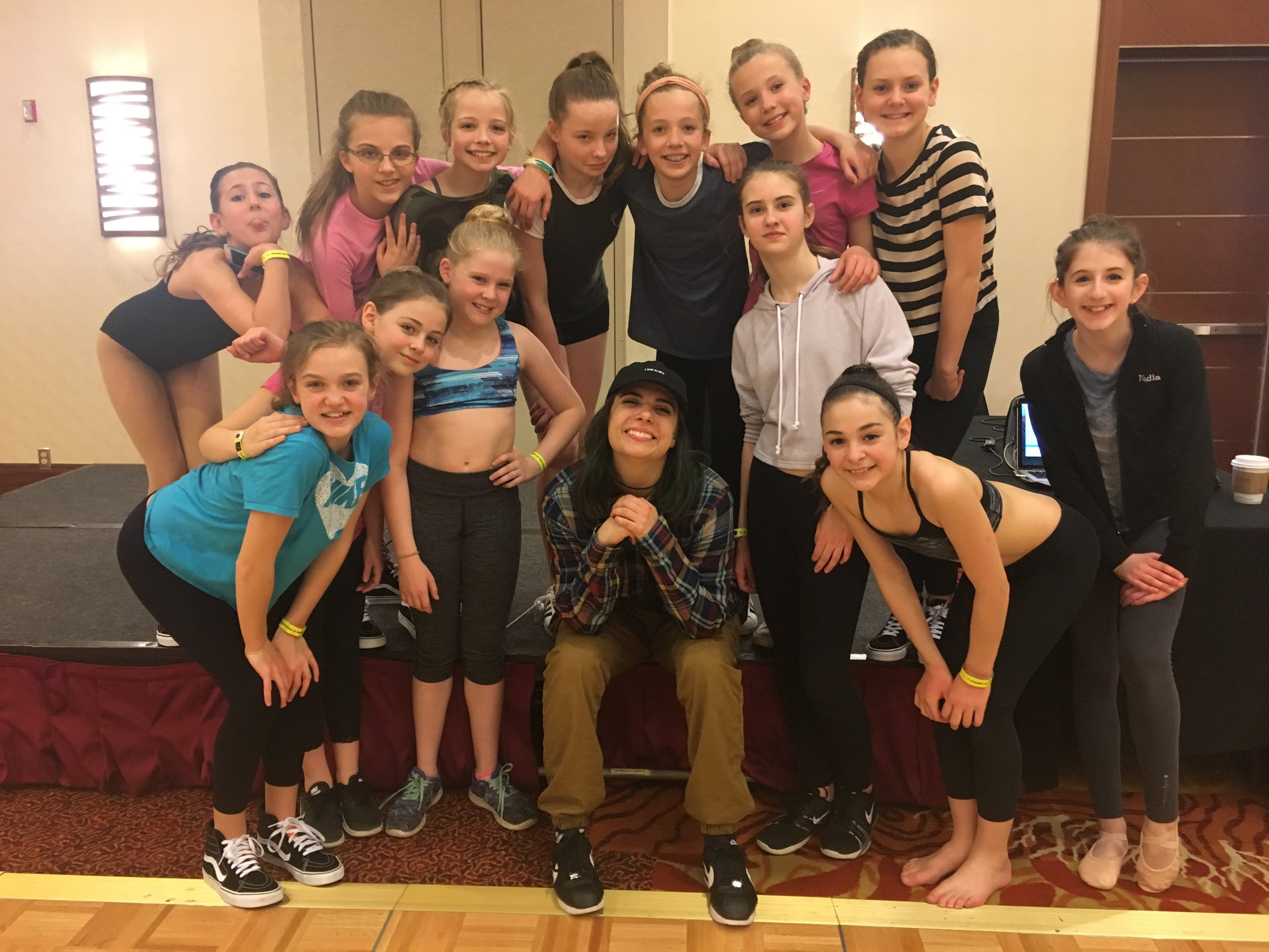 Hip Hop Workshop with Hannah Wintrode at Seattle DEA Convention
