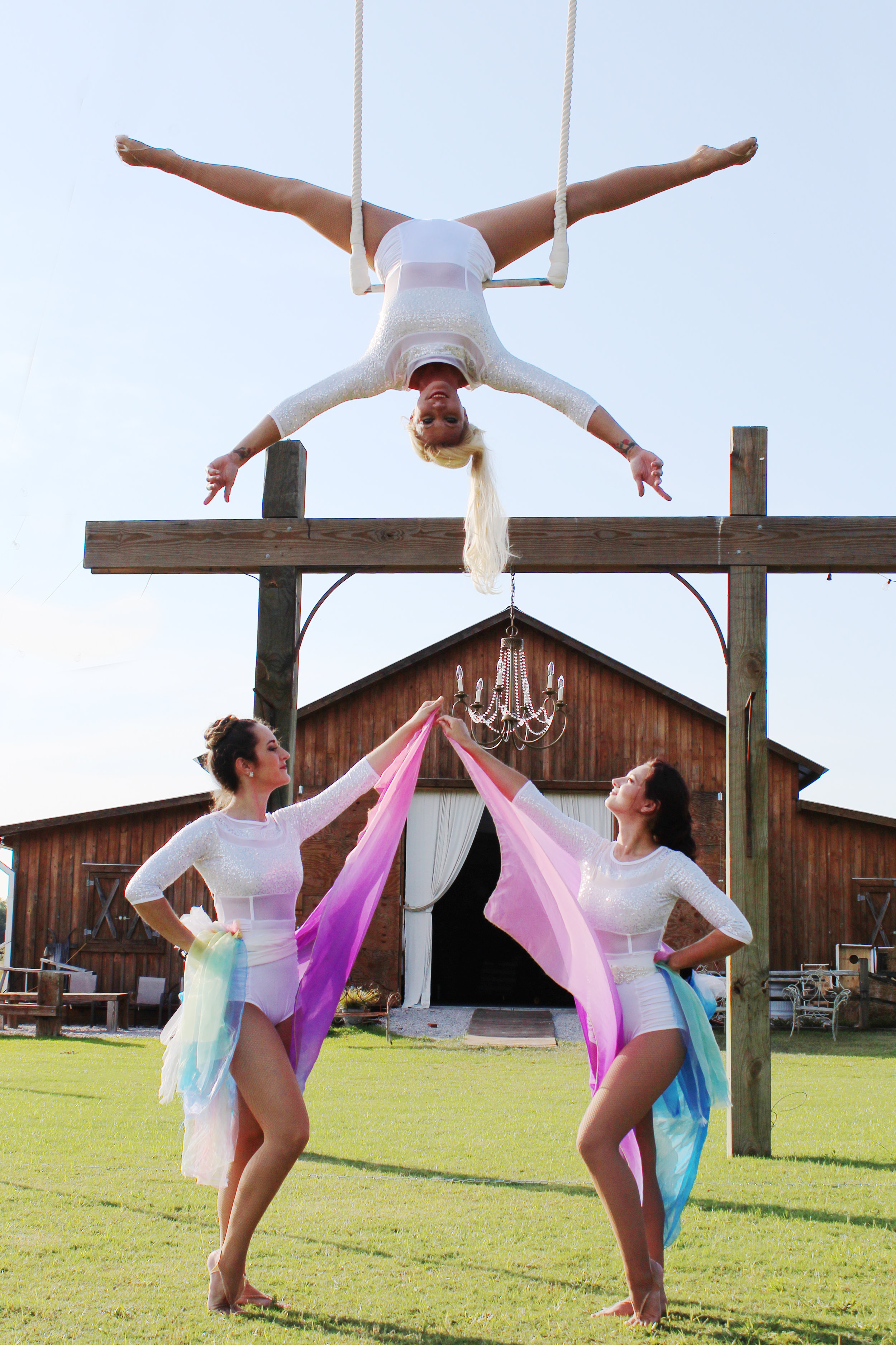 Destin Aerial Events Circus Show Performance Entertainment