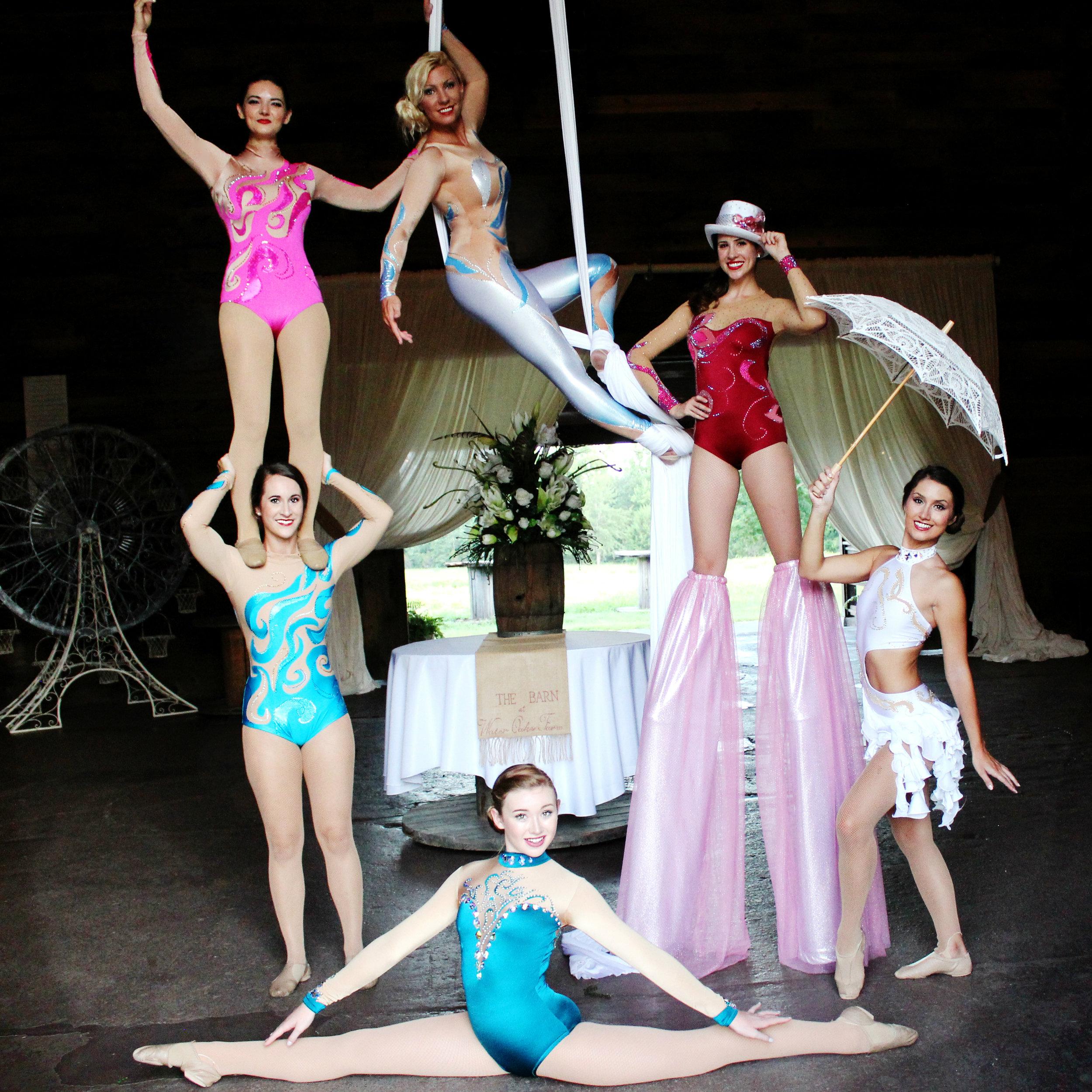 Destin Aerial Events Circus Show Performance Entertainment
