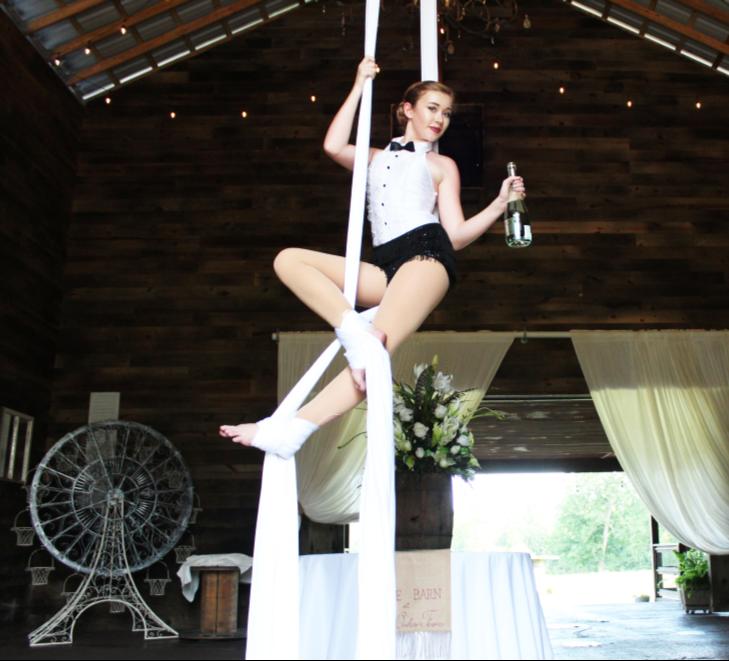 Destin Aerial Events Champagne Bartending Entertainment