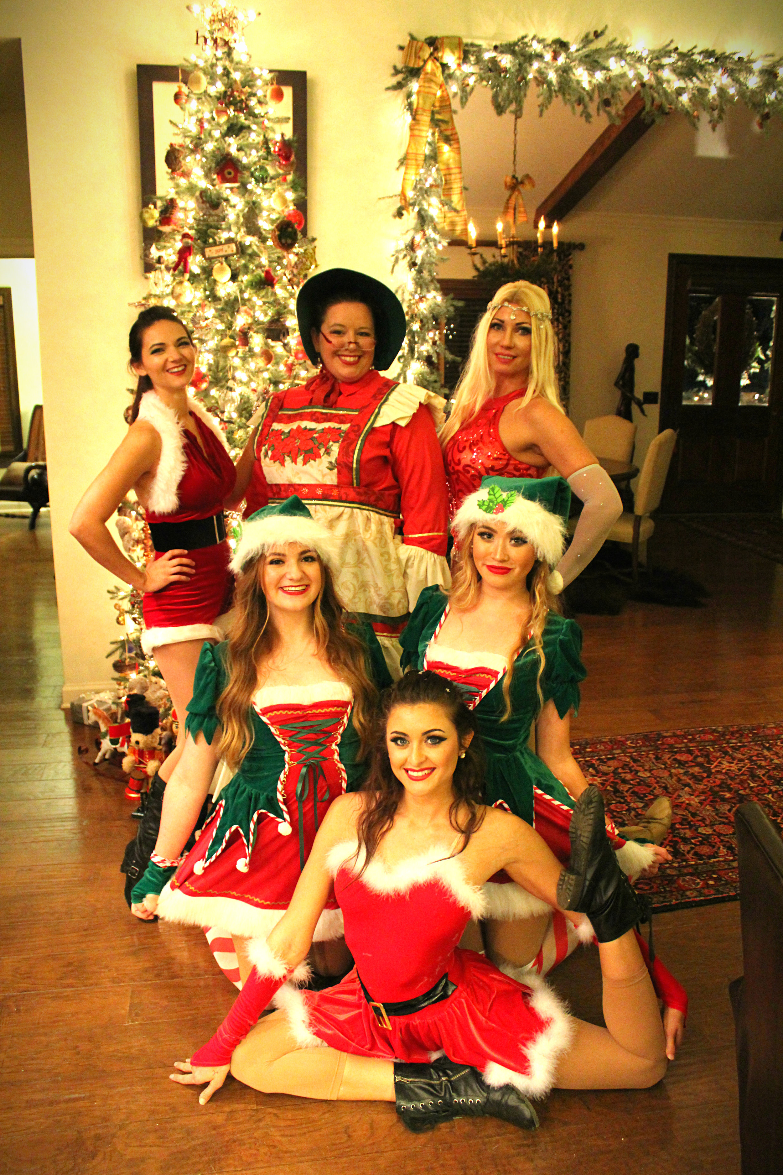 Destin Aerial Events Holiday Christmas Show Performance Entertainment