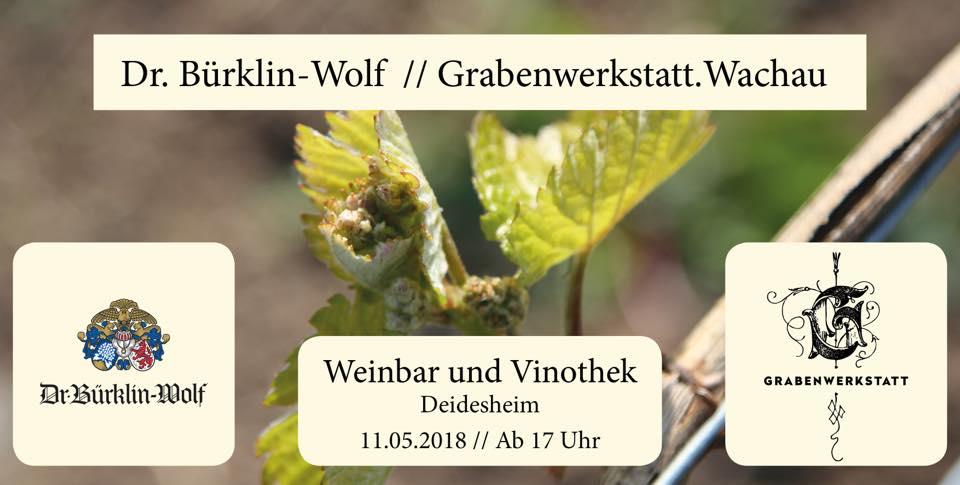 11/05/2018 - Weinbar Dr. Bürklin-Wolf Deidesheim