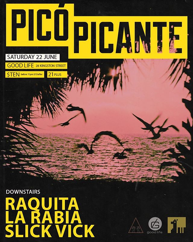 One of our longest running and best parties @picopicantebos is back THIS SATURDAY! Thanks so much to @riobamba_dj for keeping the dream alive! For this weekends edition we welcome @es_cute @rdelima & @dj_slickvick 💥 Expect plenty of Reggaeton, Dancehall, and Transnational Bass Music! 🌶🔥🏝