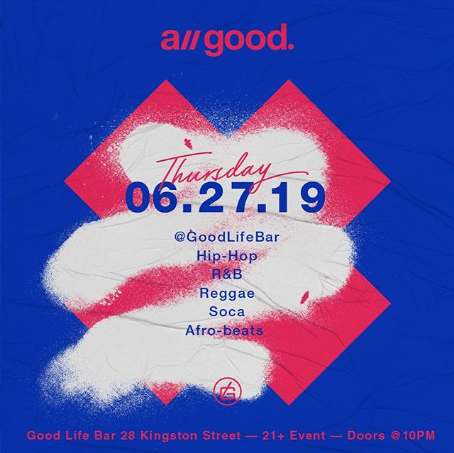 We've got another edition of a// good comin atcha 🔜