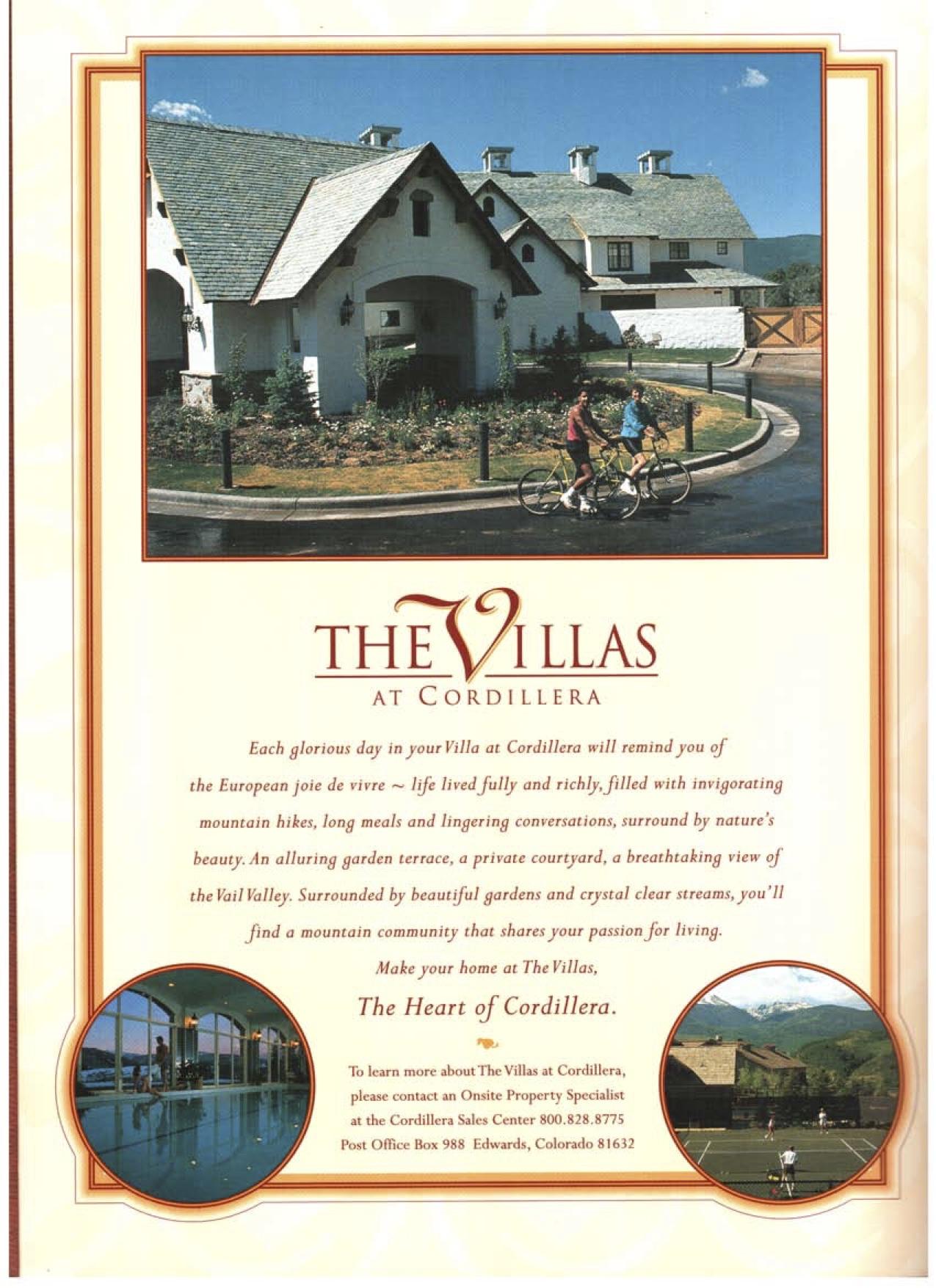 The Villas at Cordillera Campaign