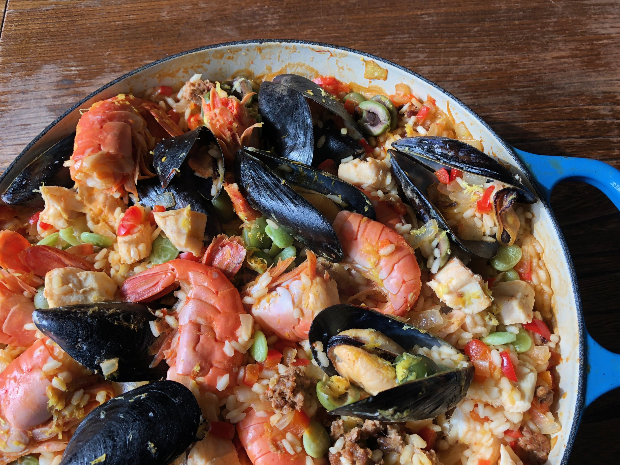 Paella for a Party!