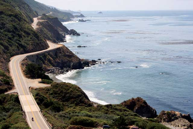 California is home to some of the best motorcycle rides in America
