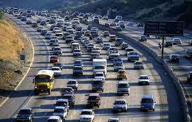Orange County freeways can be just as jammed as Los Angeles freeways. Plan your travels ahead to avoid congestion zones.