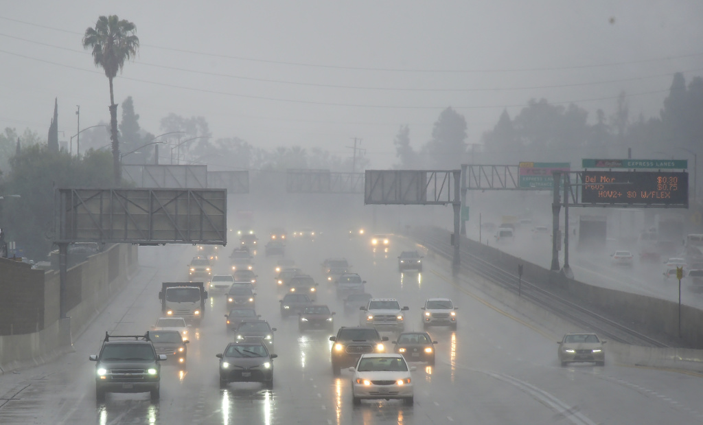 When it rains in California, roadways become slick and unsafe. Slow down, schedule more time for travel, and practice defensive driving to avoid being injured in a crash.