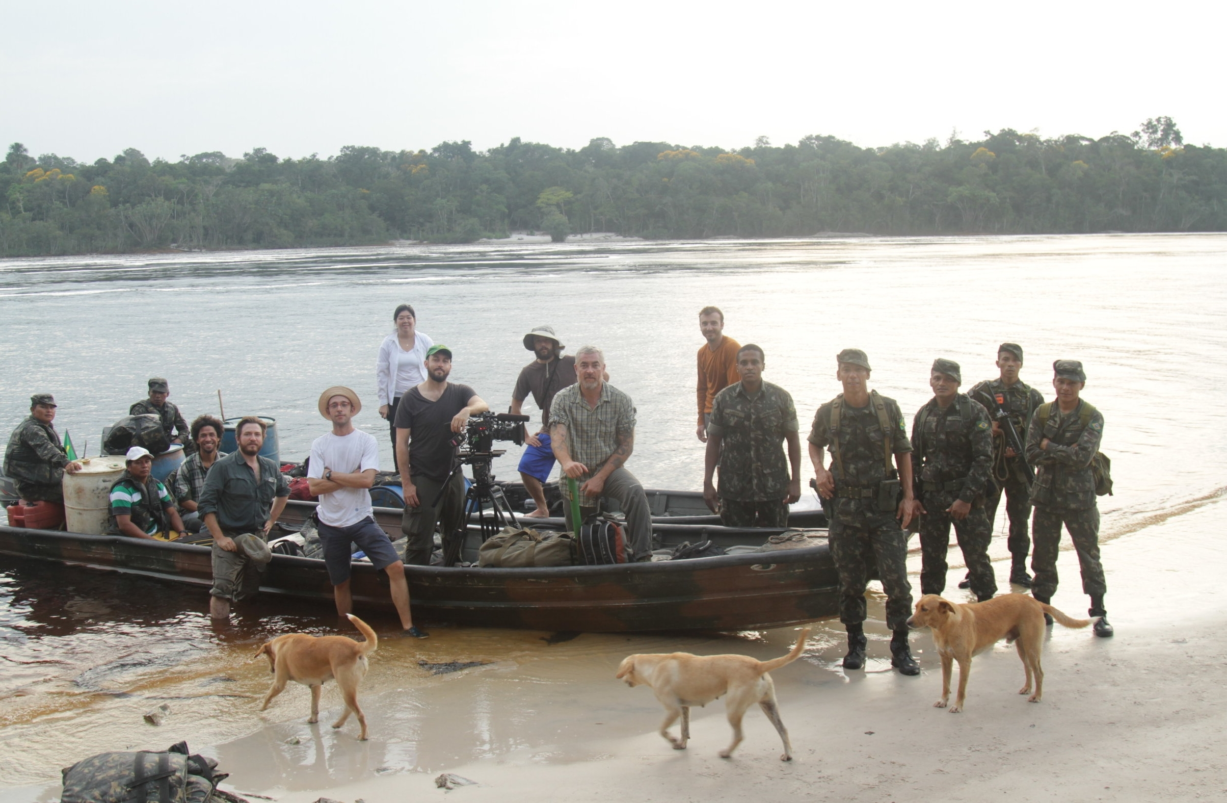 The crew and the local soldiers who assisted us making this episode happen