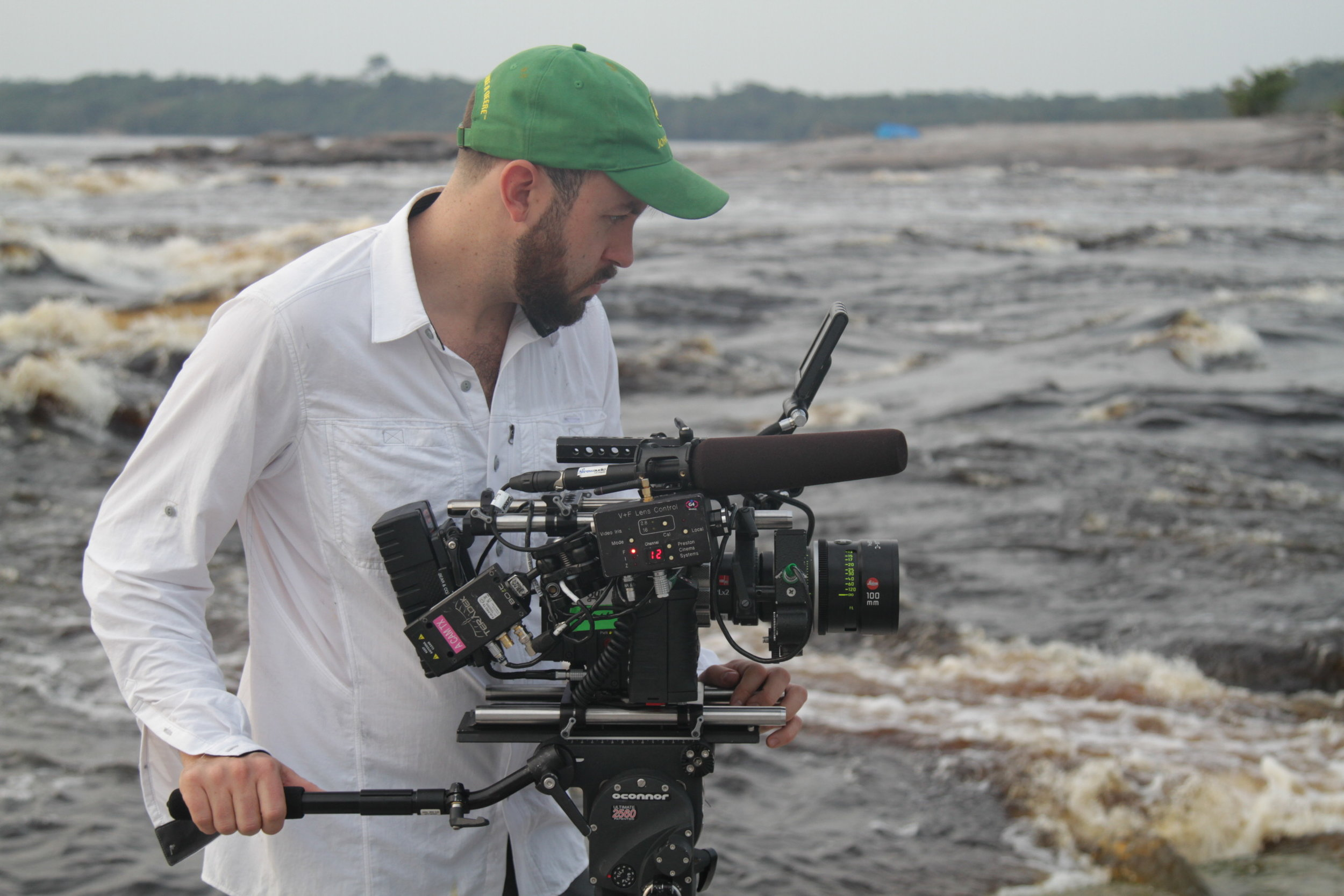 Emmy nominated director of photography Will Basantha