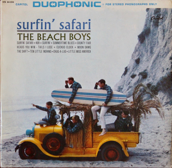 Beach Boys Album Cover