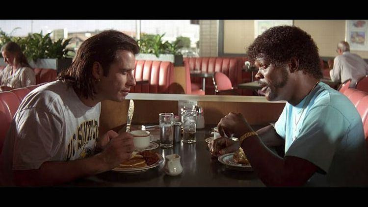 Cena clássica de Pulp Fiction