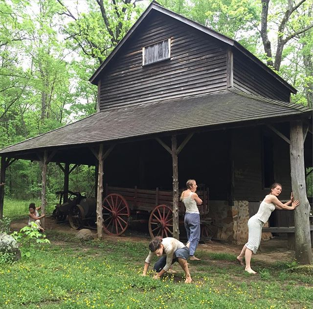 """Birthing Bodies"" by Murmurations Dance was powerful this morning. Go! Stay for the birth focused tour of the Duke Homestead. 12 and 7 o'clock today.  www.didaseason.com"