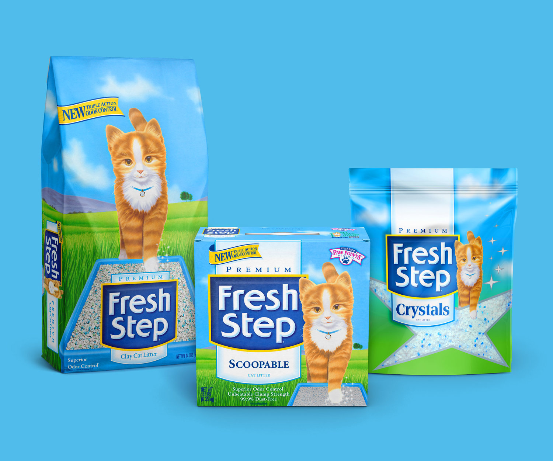 Fresh Step — McLean: Brand & Packaging Design
