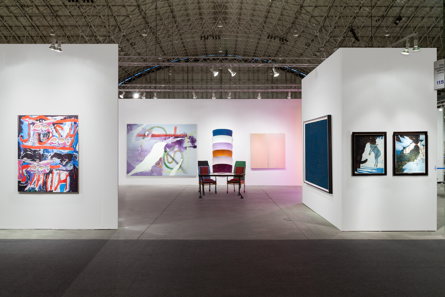 Vito Schnabel Projects booth