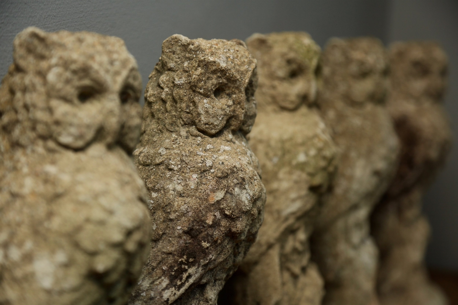 Vagabond Antiques – a Parliament of stone owls