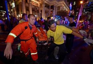 Bomb explodes near busy Bangkok crossroads; at least 19 killed