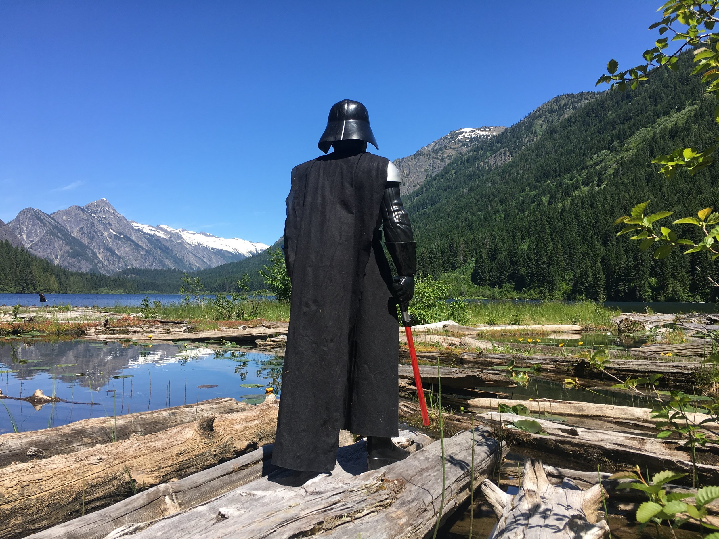 Dark side of the mountain