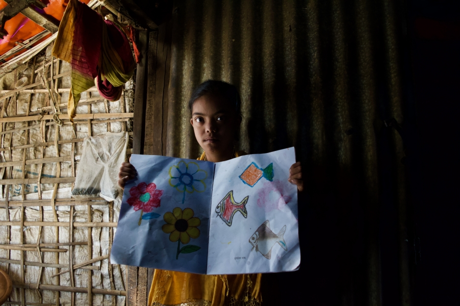 Help is scarce for Rohingya children with intellectual disabilities