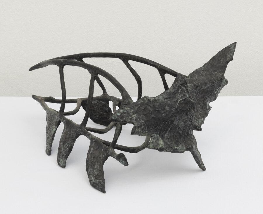 Prehistoric Bird, 1991, Bronze, 15 x 13 x 7 inches