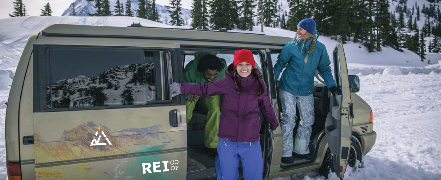 REI Outdoor Vehicle