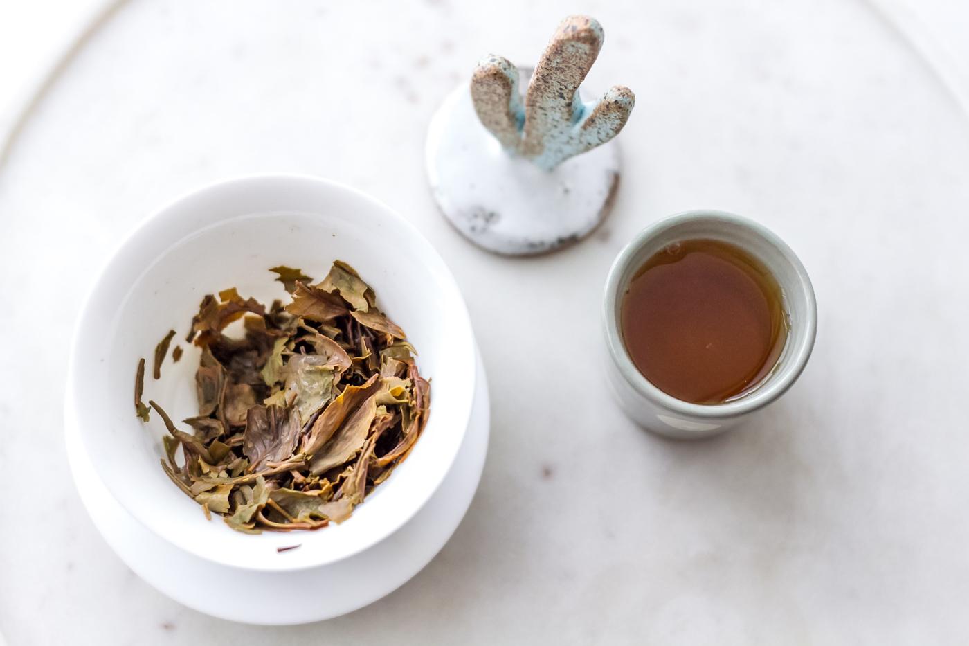 Nilgiri Blue Mountain frost tea